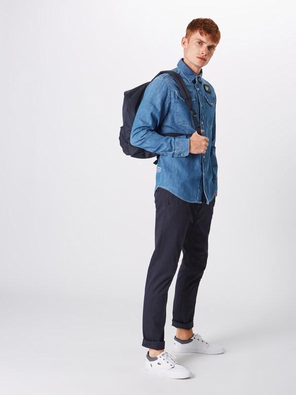 s' Blau Jeanshemd star G Shirt Straight 'bristum Utility Raw L RAxwa