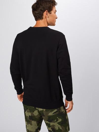 Bluză de molton DIESEL pe negru: Privire spate