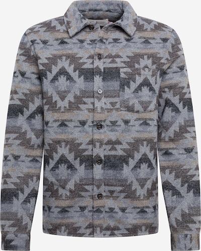 Dalykiniai marškiniai iš Revolution , spalva - pilka / rausvai pilka / purvo spalva / tamsiai pilka, Prekių apžvalga