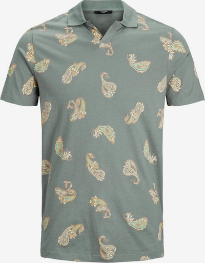 JACK & JONES T-Shirt en vert: Vue de face