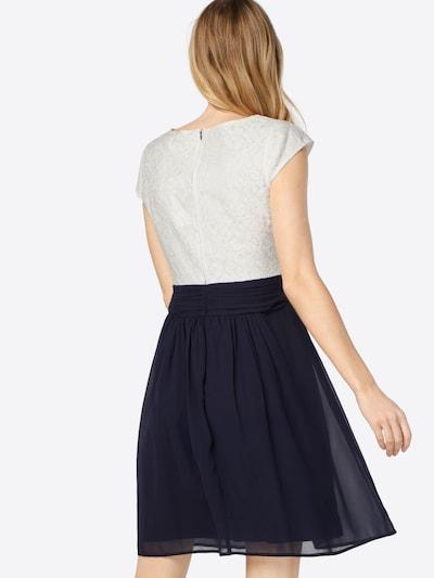 ABOUT YOU Kleid 'Darlin' in navy / weiß: Rückansicht
