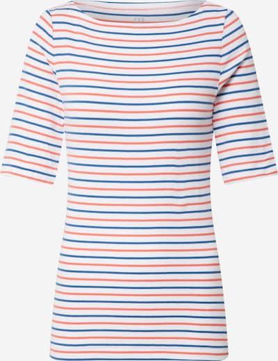 GAP Shirt 'V-SS FAV ELB BOATNK STR' in navy / rot / weiß, Produktansicht