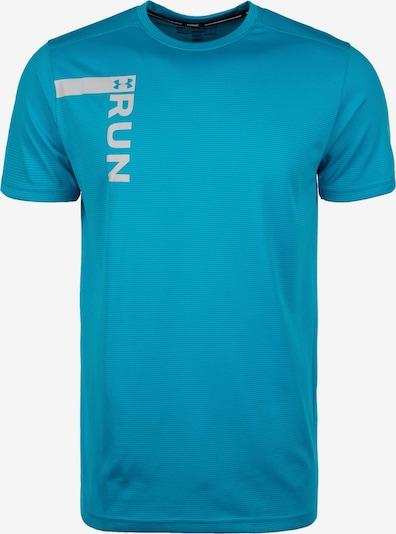 UNDER ARMOUR Laufshirt 'Run Tall Graphic' in aqua / hellgrau, Produktansicht