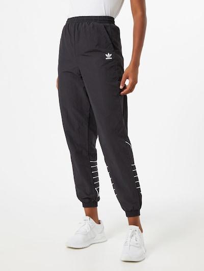 Pantaloni ADIDAS ORIGINALS pe negru, Vizualizare model