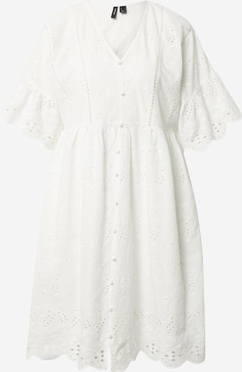 VERO MODA Šaty - bílá: Pohled zepředu