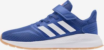 ADIDAS PERFORMANCE Sportschoen 'Run Falcon' in de kleur Blauw / Wit, Productweergave