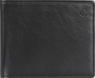 Esquire Geldbörse 'Eco' in schwarz, Produktansicht