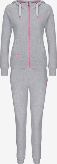 BIDI BADU Sportanzug 'Pixie' in graumeliert / pink, Produktansicht