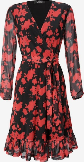 Aniston SELECTED Kleid in blutrot / schwarz, Produktansicht