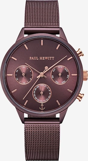 Paul Hewitt Uhr 'Everpulse' in rosegold / beere, Produktansicht