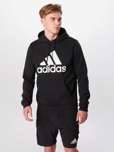 ADIDAS PERFORMANCE Bluzka sportowa w kolorze czarny / białym: Widok z przodu