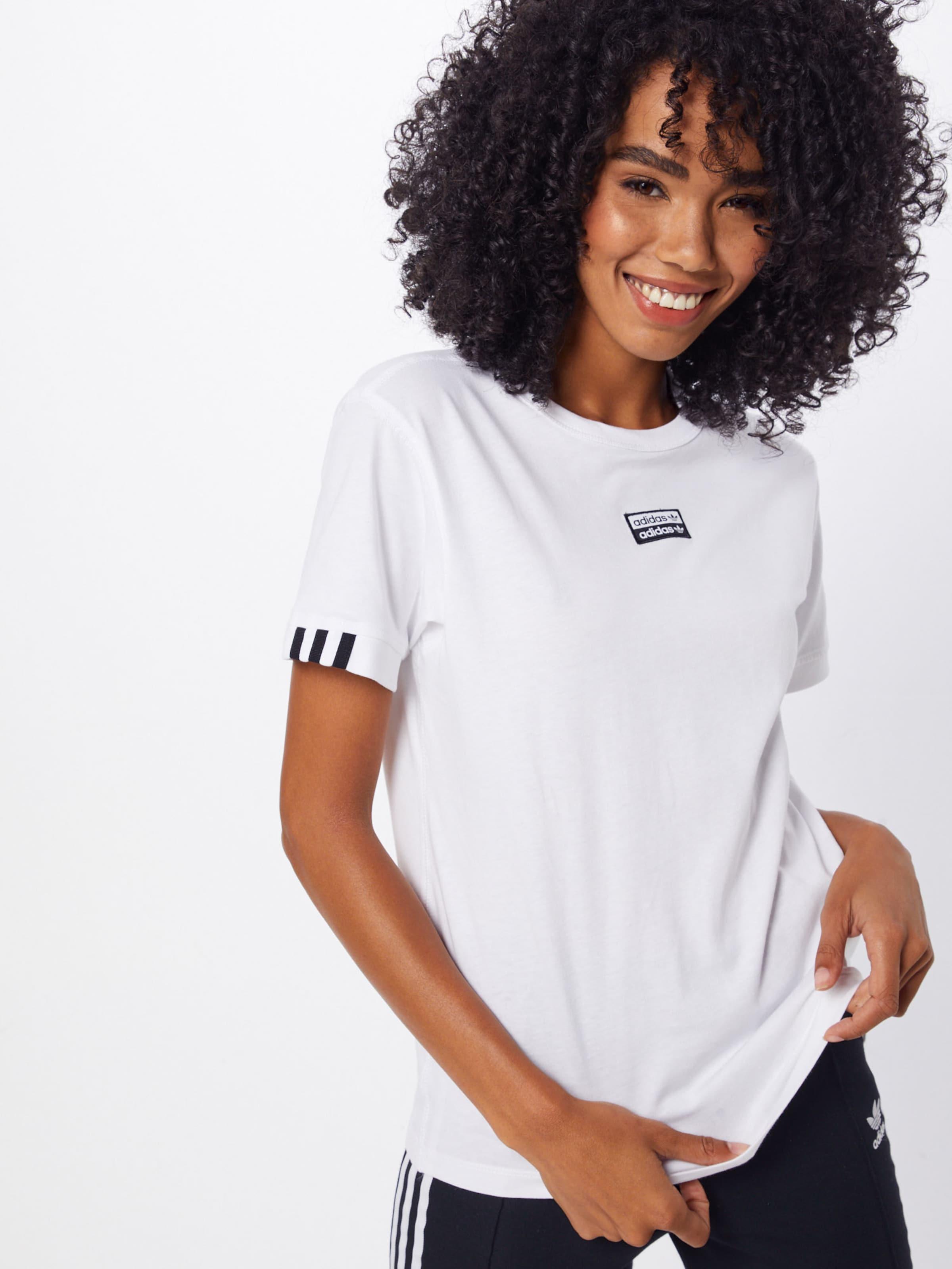 T Adidas Originals shirt Weiß In bgY76Ivmyf