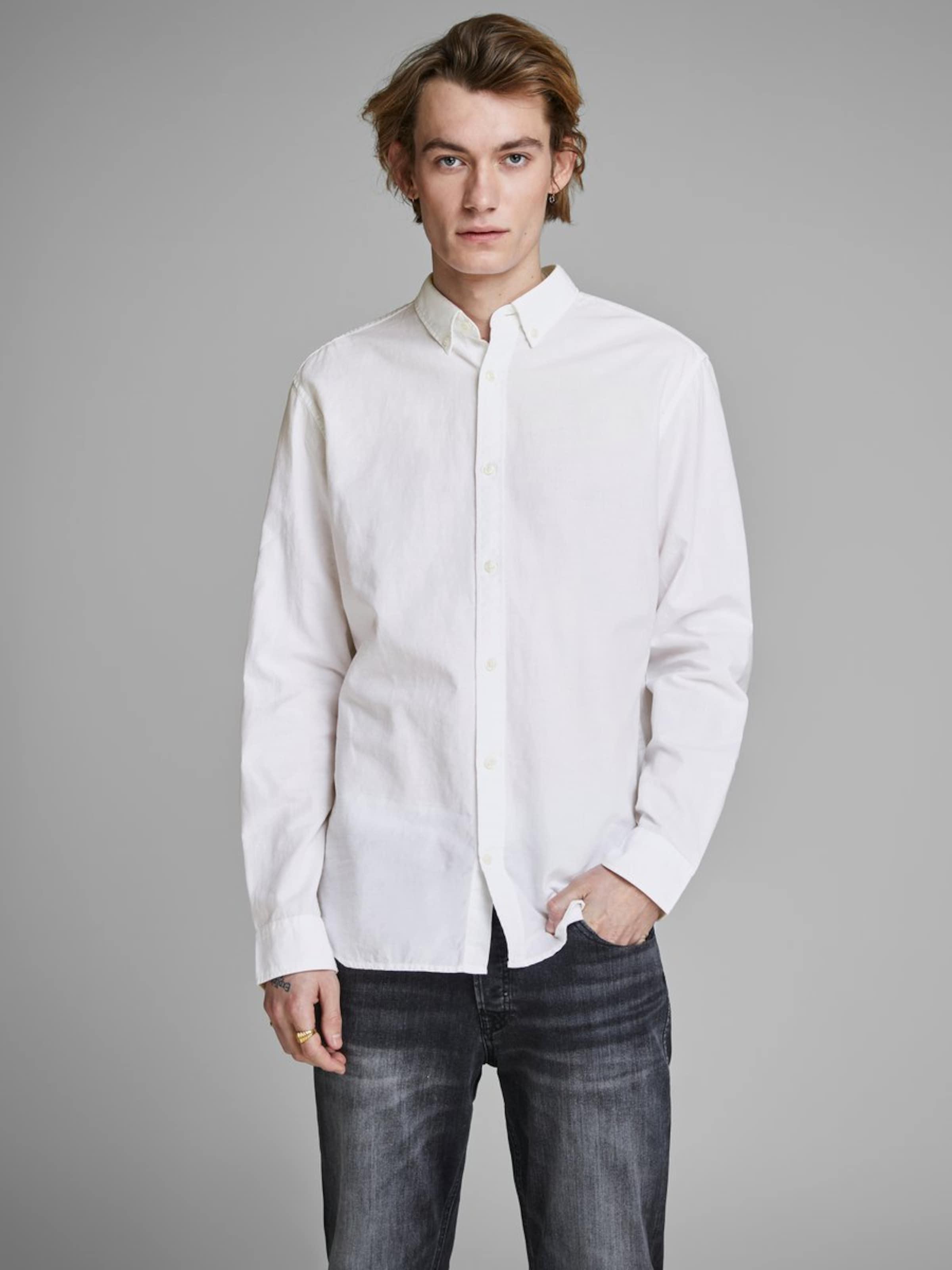 Hemd Jackamp; Jackamp; Hemd Jones Hemd In Weiß Weiß In Jackamp; Jones Jones 3AL5Rj4