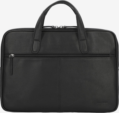 D&N Aktentasche 'Business Line' 40cm in schwarz, Produktansicht