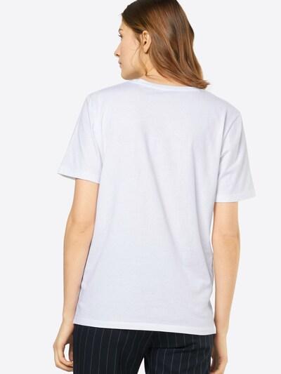 EINSTEIN & NEWTON Shirt 'Panda Eyes Paxton' in dunkelgrau / weiß: Rückansicht