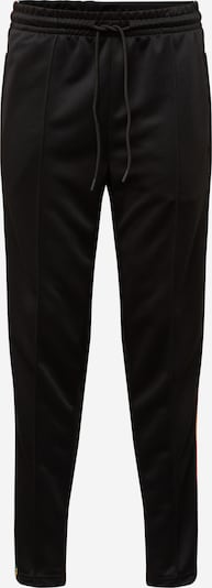 Urban Classics Track Pants in blau / gelb / schwarz, Produktansicht