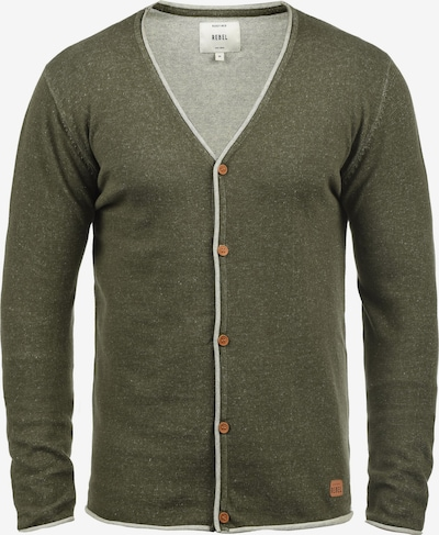 Redefined Rebel Cardigan 'Maxen' in grün / khaki / oliv / dunkelgrün, Produktansicht