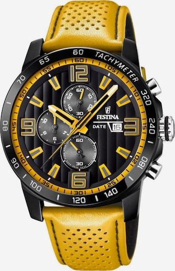 FESTINA Chronograph 'F20339/3' in gold / schwarz, Produktansicht