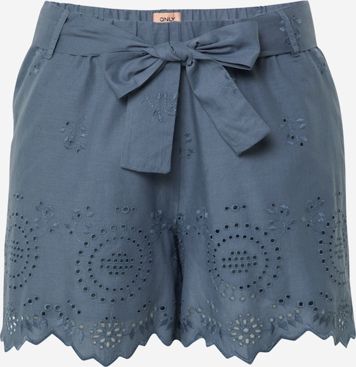 ONLY Shorts in taubenblau, Produktansicht