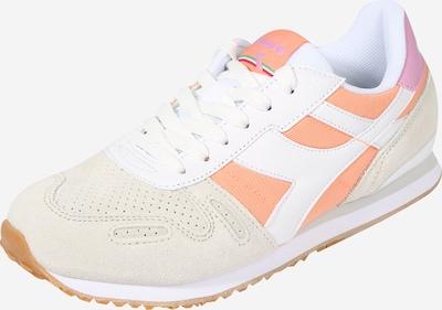 Diadora Sportschuh 'TITAN' in beige / orange / weiß, Produktansicht