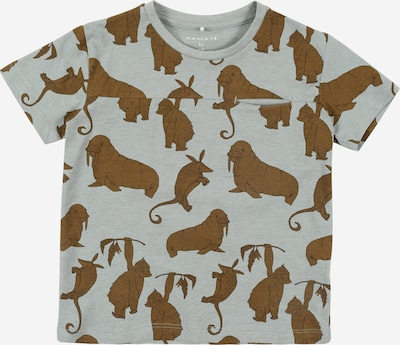NAME IT T-Shirt 'Jimmy' in braun / grau, Produktansicht