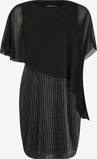 SWING Curve Kleid in schwarz / silber, Produktansicht