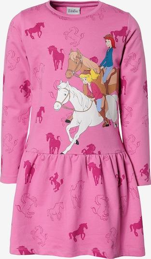 Bibi und Tina Sweatkleid in mischfarben / pink, Produktansicht