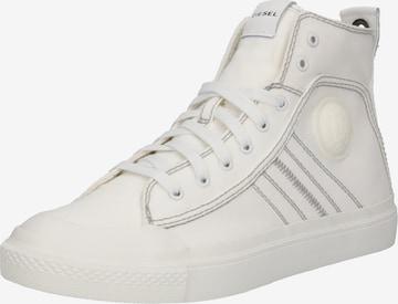 balts DIESEL Augstie brīvā laika apavi 'S-Astico Mid Lace'