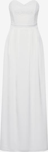 ABOUT YOU Robe de soirée 'Laila' en blanc: Vue de face