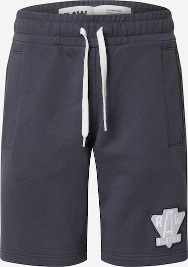 G-Star RAW Pantalon en gris / graphite / blanc: Vue de face