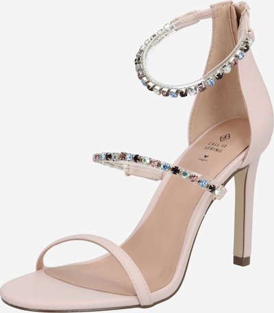 CALL IT SPRING Sandale 'Silvertip' in beige / rosa, Produktansicht