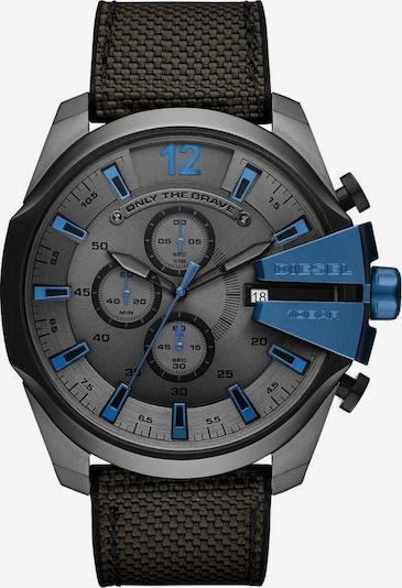 DIESEL Chronograph 'Mega Chief' in blau / grau / schwarz, Produktansicht
