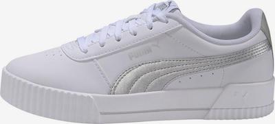 PUMA Sneaker 'Carina Meta20' in silber / weiß, Produktansicht
