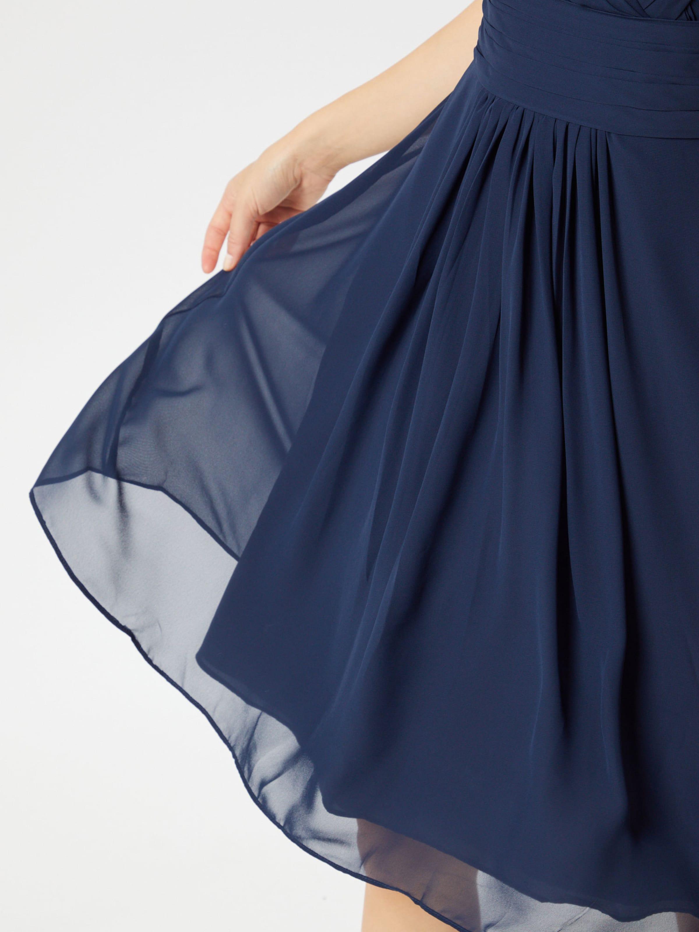 STAR NIGHT Klänning i marinblå