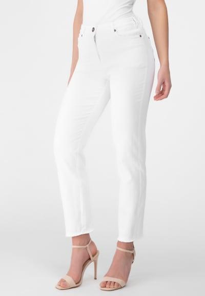 Recover Pants Jeans  mit Stickerei in weiß, Modelansicht