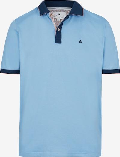 Tom Ripley Poloshirt in hellblau: Frontalansicht