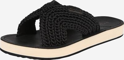 GANT Klapki 'Flatville' w kolorze czarny / białym, Podgląd produktu