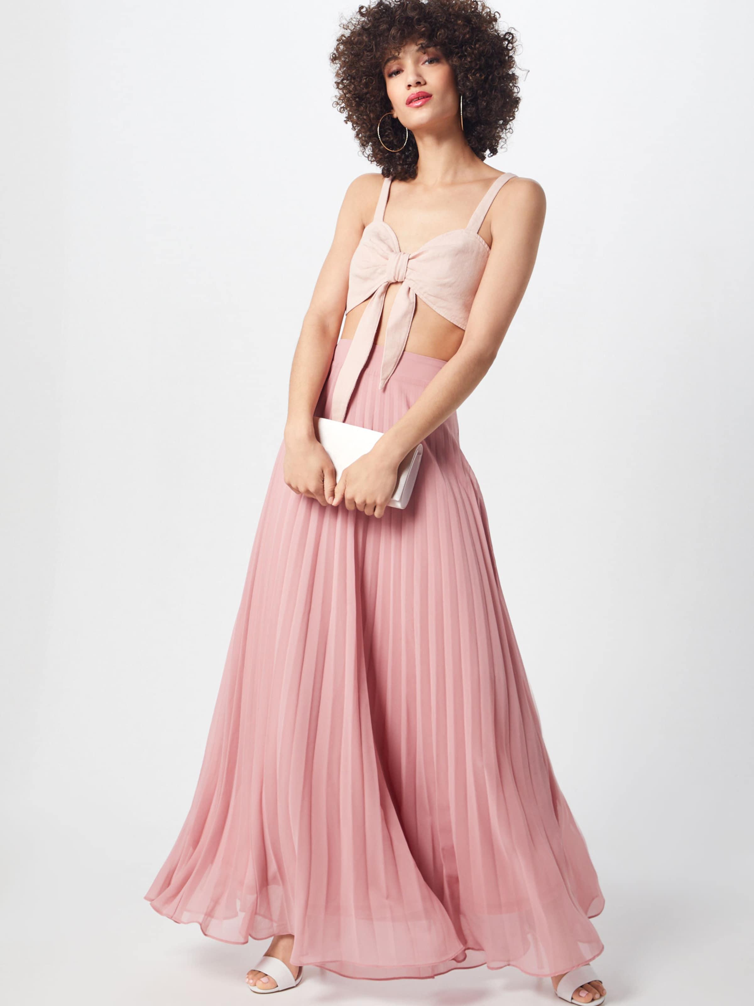 Bralet Ord En Haut 'tie Co Front Pink' Rose Missguided F1TKJcl