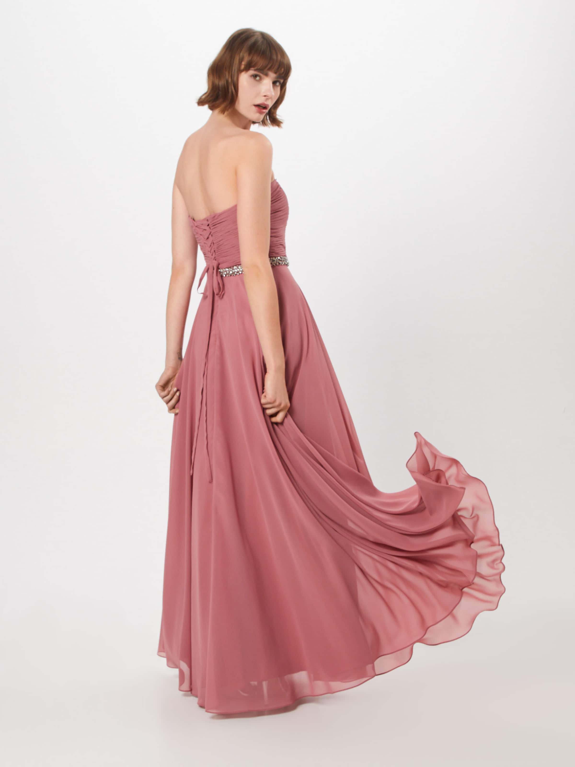 Belt Kleid In 'pleated Rosé Mascara Back' xQtshdCr
