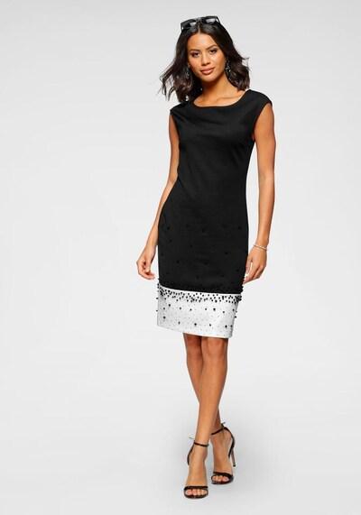 BRUNO BANANI Kleid in schwarz / weiß, Modelansicht