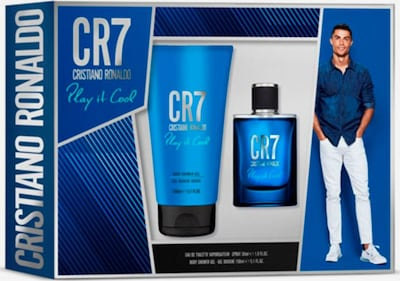 "Cristiano Ronaldo Duft-Set ""Play It Cool' in blau, Produktansicht"