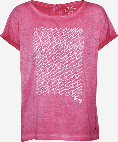 Tricou 'SUMMERTIME HAPPINESS' ROXY pe roz / alb, Vizualizare produs