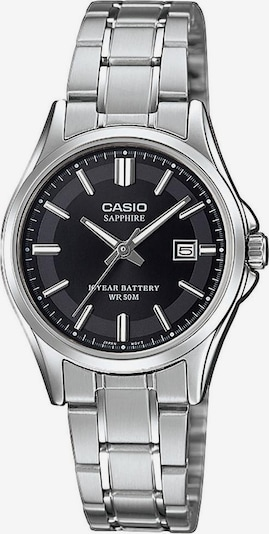 CASIO Quarzuhr 'LTS-100D-1AVEF' in schwarz / silber, Produktansicht