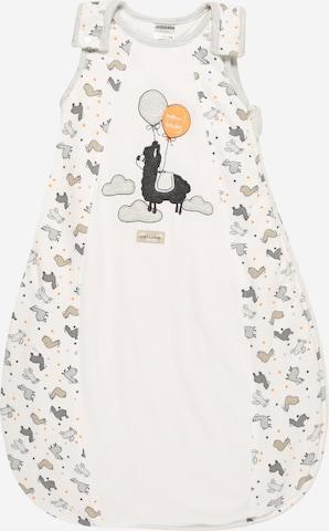 JACKY Schlafsack 'Lama' in Weiß
