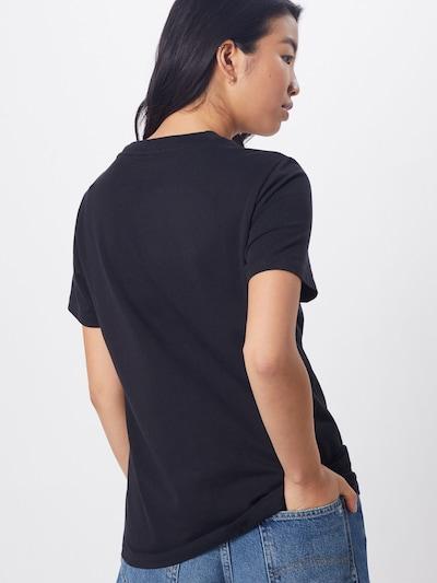 ADIDAS ORIGINALS Trefoil Tee Adicolor Sportmode T-Shirt in schwarz / weiß: Rückansicht
