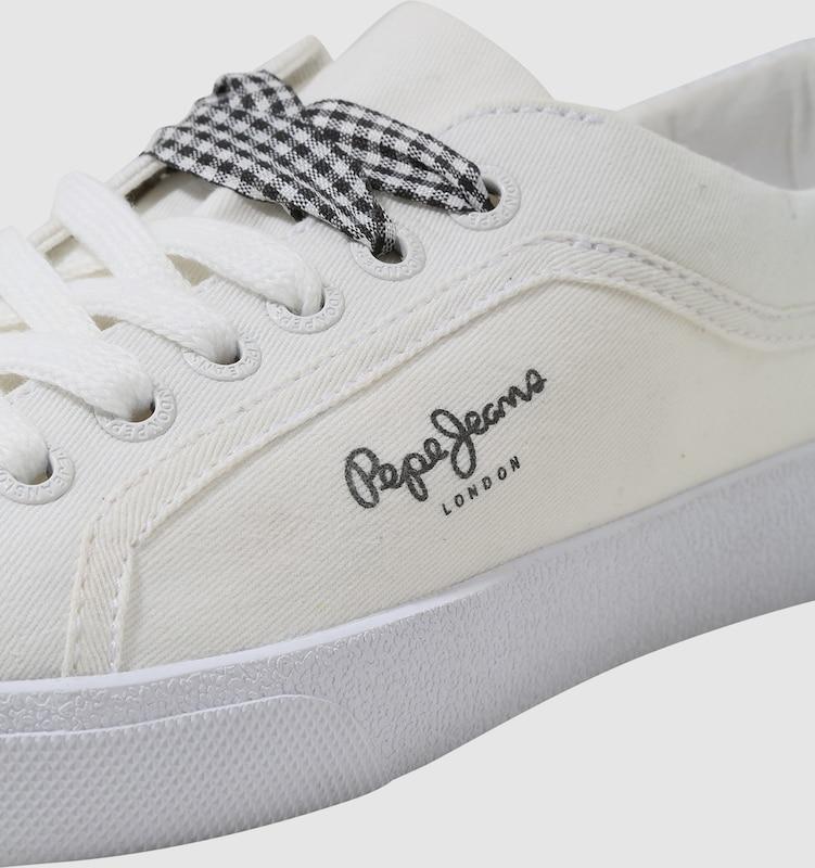 Pepe Jeans | mit Turnschuhe Rene Skate  mit | Effekt-Besatz 916f86