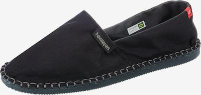 HAVAIANAS Espadrilles in schwarz, Produktansicht