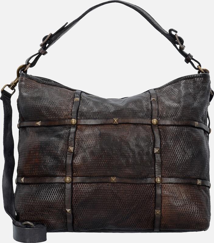 Campomaggi Clematide Shopper Tasche Leder 32 cm