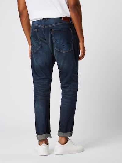 Džinsai 'CALLEN CROP' iš Pepe Jeans , spalva - tamsiai (džinso) mėlyna: Vaizdas iš galinės pusės