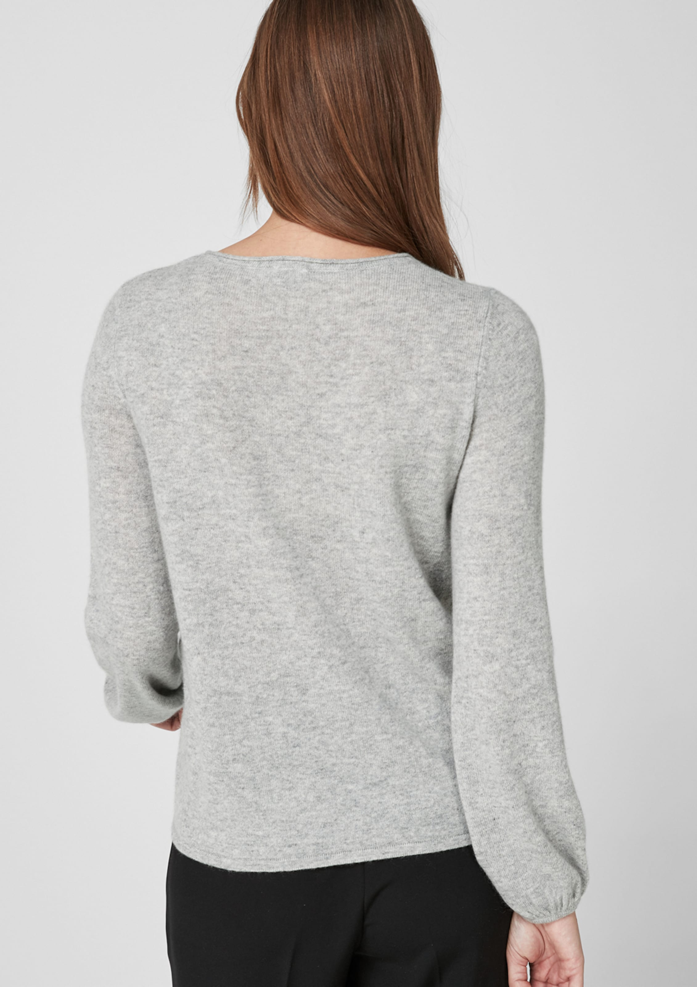 S oliver Label Pullover Black In Graumeliert roeWdxBQCE